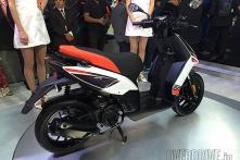 Piaggio unveils Aprilia SR 150 sports scooter-bike at Auto Expo 2016