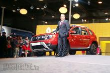 The all-new Renault Duster unveiled at Auto Expo