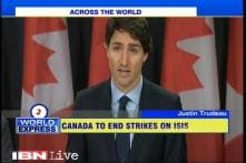 Will end airstrikes against ISIS in Iraq and Syria: Canada PM