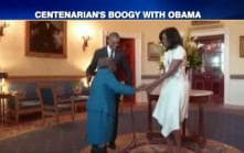 106-year-old woman dances with US First Couple