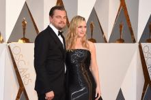 Oscars 2016: Friends Leonardo DiCaprio and Kate Winslet bring back 'Titanic' memories as they pose together on the red carpet