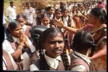 Students pray for Lance Naik Hanamanthappa Koppad's speedy recovery