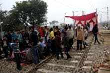 More than 800 trains hit after 7 stations in Haryana set on fire due to Jat stir