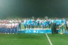 Indian women beat Nepal 4-0 to bag SAG football gold