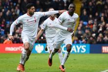 Late Benteke penalty earns Liverpool 2-1 win at Crystal Palace