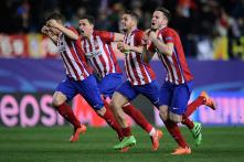 Atletico edge out PSV in penalty thriller to reach Champions league last 8