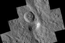 NASA discovers mountain on dwarf planet Ceres