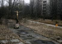 In pics: the ghost town of Pripyat, 30 years after the Chernobyl disaster
