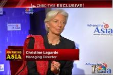 IMF chief optimistic about India's economic growth