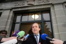 Michel Platini files appeal at CAS against FIFA's six-year ban