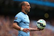 EPL: Pablo Zabaleta asks Manchester City to cash in on League Cup success