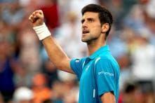 Top-ranked Novak Djokovic battles into Miami Open quarters