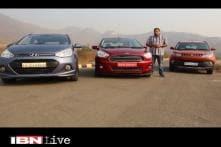Overdrive: Comparative review of Mahindra KUV100 vs Ford Figo Aspire vs Hyundai Grand i10