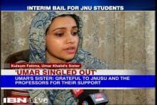 JNU sedition row: Umar Khalid, Anirban Bhattacharya released from Tihar Jail