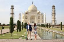 William-Kate End Their India Trip with a Visit To Taj Mahal