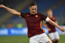 Serie A: Totti helps Roma draw 1-1 with Bologna in a rare appearance