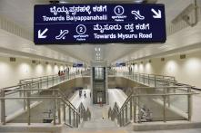 Bangalore Metro Corporation Blames Centre for Hindi in Metro Sign Boards