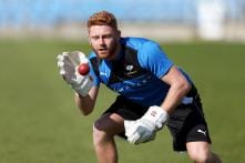England's Bairstow 'Desperate' to Keep Gloves Against India Despite Injury