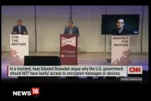 Watch: Zakaria in Debate With Snowden On Encryption, Government Access