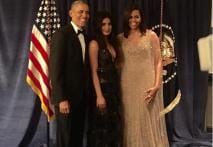 Photo of the Day: Priyanka's 'Lovely Evening' With the Obamas