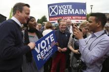 On Eve of Defining British EU Referendum, Rivals Race for Final Votes