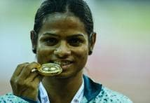 India's Sprinter Dutee Chand Qualifies for Rio in 100 Metres