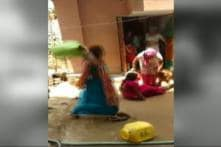 Watch: Women Caught in Ugly Brawl Over Water in Delhi