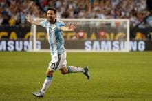 Lionel Messi Hat-Trick Helps Argentina Into Quarters of Copa America
