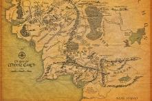 An Artist Drew a 'Lord of The Rings' Style Map of North America