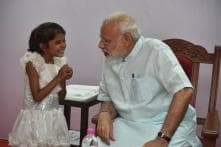 Narendra Modi Meets Girl Who Had Sought Help for Heart Surgery