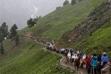 Amarnath Pilgrims Forced to Halt as Landslides Block Jammu-Srinagar Highway