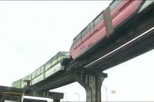 Watch: Monorail Stuck in Mumbai, Passengers Evacuated