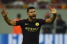 Sergio Aguero Misses Two Penalties, Scores Hat-Trick in City Rout