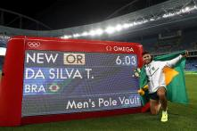 Rio 2016: Brazilian Thiago Braz Da Silva Wins Gold Medal in Men's Pole Vault
