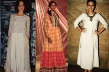 Smriti Irani, Vijay Bhai Rupani Attend Indian Handloom Show At India Textiles 2017