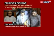 Justice Katju Questions SC on Lodha Panel Recommendations