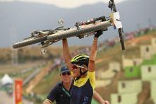 Rio 2016: Sweden's Jenny Rissveds Wins Women's Mountain Bike Gold