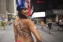 Go Topless Day: Women, Men in US Bare All for Gender Equality