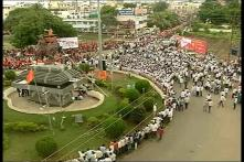 Watch: Silent Marches In Maharashtra For Maratha Reservation