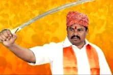 BJP MLA Raja Singh Issues Threat Video On the Eve Of Bakr-Eid