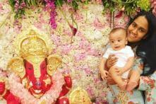 Salman Khan's Nephew Ahil Looks Adorable As He Celebrates His First Ganesh Chaturthi