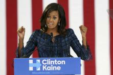 Michelle Obama Bats For An 'Adult' in White House