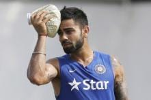 Captain Virat Kohli Cuts Special '500th Test' Cake in Kanpur