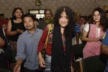 Irom Sharmila Attends Malom Massacre Anniversary for First Time
