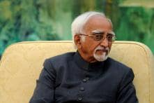 Indian Companies Lack Sufficient Experience in Global Competition: Vice President Hamid Ansari