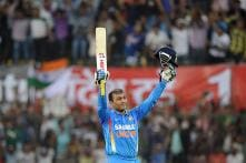 8th December 2011: Sehwag Follows Sachin's Footsteps, Scales Mt 200 in ODIs