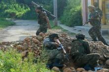 One Terrorist Killed in a Gunbattle in J&K's Baramullah, Operation Underway