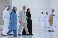 Britain's Prince Charles, Camilla Visit UAE Mosque on Tour