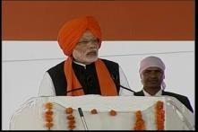 PM Modi Pays Obeisance at Anandpur Sahib Gurdwara