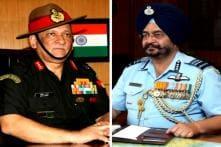 Lt Gen Bipin Rawat New Army Chief, Air Marshal BS Dhanoa IAF Head